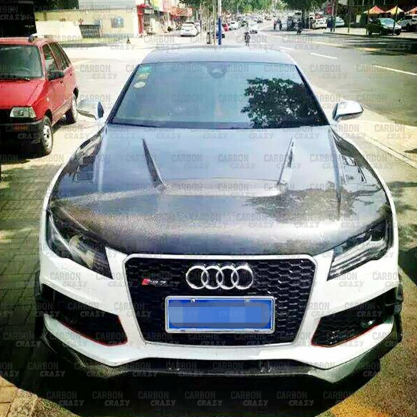 Cc Carbon Fibre Hood For 2013 2015 Audi A5 Carbon Crazy