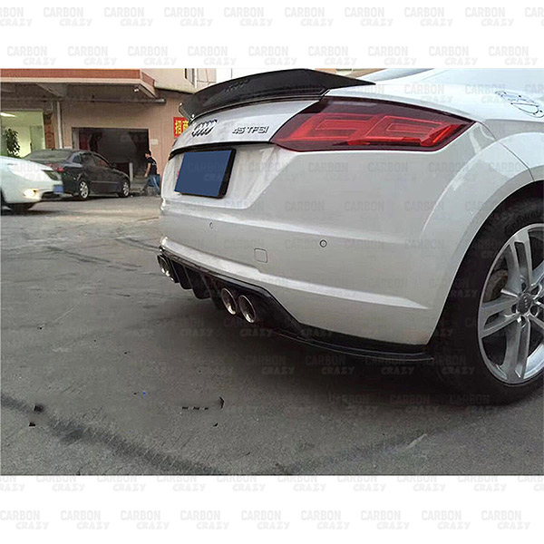Tt Style Carbon Fiber Rear Spoiler For 2015 2019: Balance-it-style-TT-TTS-Carbon-Fiber-Rear-Trunk-Wing