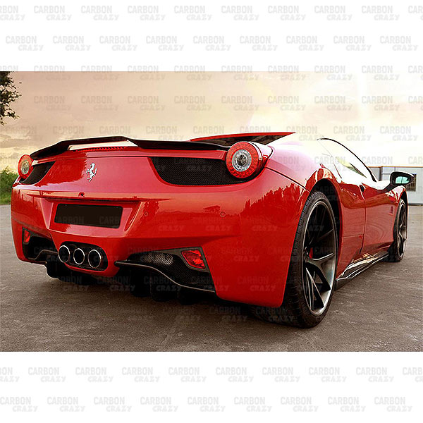 VSTR CARBON FIBRE REAR SPOILER FOR 2011-2016 FERRARI 458