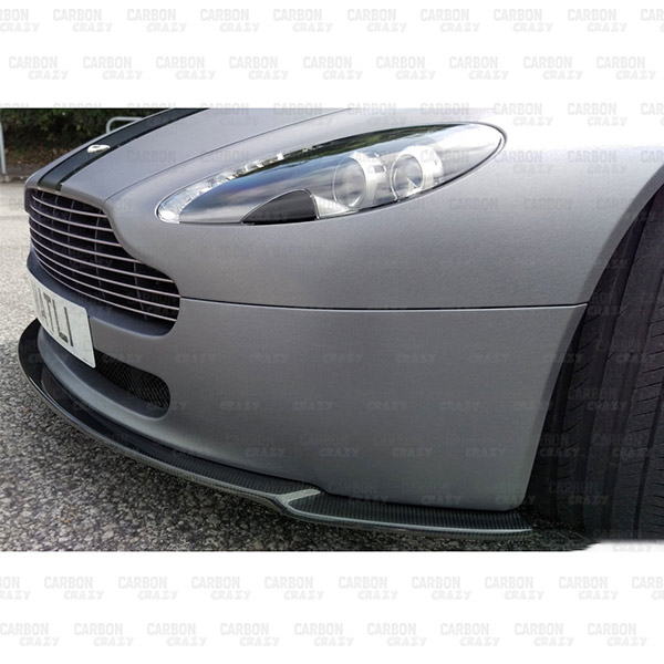Mwd Carbon Fibre Front Lip For 2007 2011 Aston Martin Vantage V8